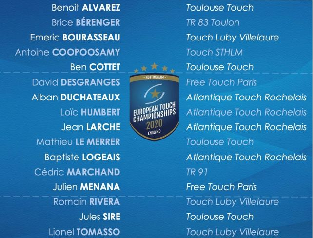 Equipe de France Touch Rugby
