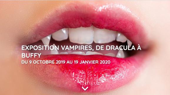 Affiche Exposition Vampires